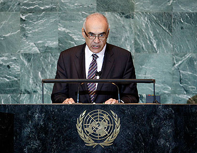 Egypt's Foreign Minister Mohamed Amr (Photo: Reuters)   (Photo: Reuters )
