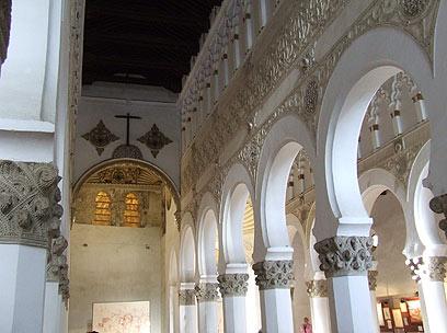 פעם בית כנסת, היום כנסייה. סנטה מריה לה בלנקה (צילום: יואב גלזנר) (צילום: יואב גלזנר)