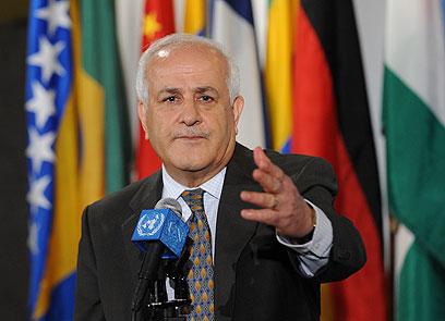Palestinian delegate at the UN, Riyad Mansour (Photo: AFP)