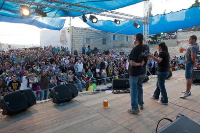 היו גם הופעות! קונצרט באוקטוברפסט (צילום: מתי מילשטיין) (צילום: מתי מילשטיין)