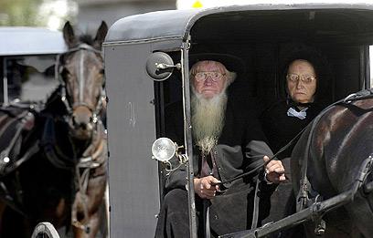 לא סתם תמהונים מהמאה ה-17. אנשי כת האמיש (צילומים: MCT) (צילום: MCT) (צילום: MCT)