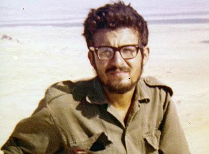 דב אינדיג בזמן השירות הצבאי ()