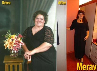 תמיד סבלה מאכילה רגשית. מרב לפני ואחרי הדיאטה (צילום: Merav m Fiorella) (צילום: Merav m Fiorella)
