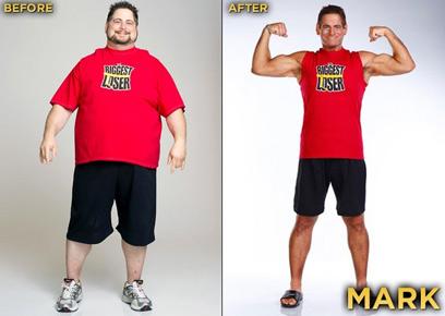 בן הדוד, מארק פנחסוביץ, לפני ואחרי הדיאטה (צילום: Mark Pinhasovich) (צילום: Mark Pinhasovich)