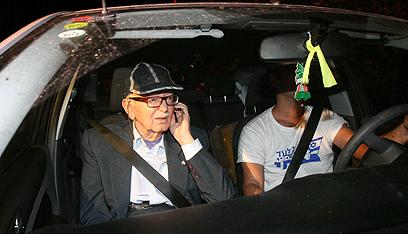 Gilad Shalit's grandfather (Photo: Hagai Aharon) (Photo: Hagai Aharon)