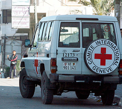 No friend of Israel? Red Cross (Photo: EPA)