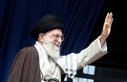 הדיבור על בידוד העם האיראני מראה על המשך האשלייה. חמינאי (צילום: רויטרס) (צילום: רויטרס)