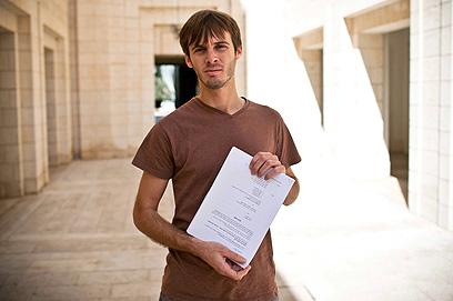 """עתר לבג""""ץ. מאיר סחיווסחורדר, שבני משפחתו נרצחו בסבארו (צילום: נועם מושקוביץ) (צילום: נועם מושקוביץ)"""