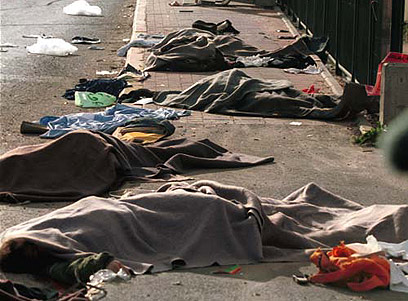 Terror attack aftermath (Archive photo: Dadi Lifshitz)