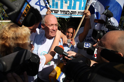 Shimshon Libman. End of struggle (Photo: Avishag Shaar-Yeshuv)
