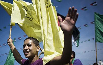 אסירים ראשונים ישוחררו תוך שבועיים? החגיגות לפני שנתיים (צילום: AFP) (צילום: AFP)