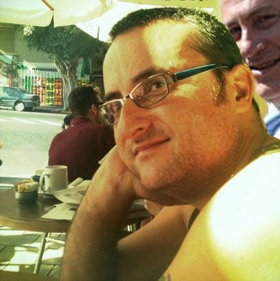 ולקינוח: שטרייגולד עצמו עם ביבי ברקע (עיצוב: אורי שטרייגולד) (עיצוב: אורי שטרייגולד)