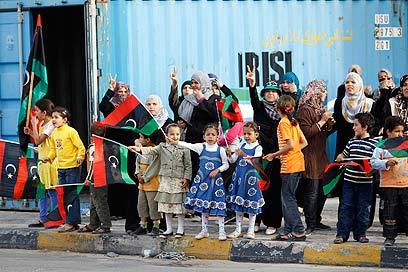Celebrations in Misarta (Photo: Reuters)
