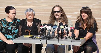 מסיבת העיתונאים, היום בתל אביב (צילום: מוטי קמחי) (צילום: מוטי קמחי)