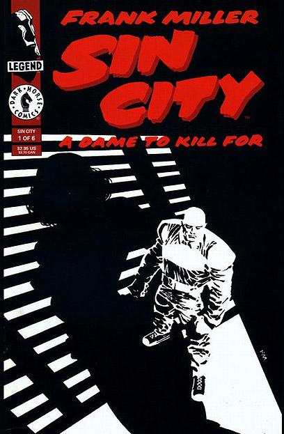 """""""עיר החטאים"""" של מילר. לקחת את המדיום הכי רחוק שאפשר  (עטיפת הספר) (עטיפת הספר)"""