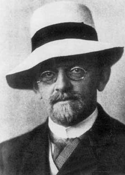 המתמטיקאי דיוויד הילברט ()