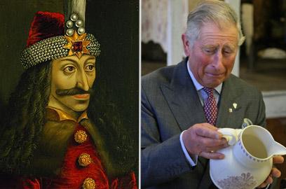 קרובי משפחה? הנסיך צ'רלס וולאד השלישי (צילום: AP) (צילום: AP)