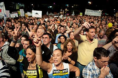 עם ישראל לא היה אמש בכיכר רבין (צילום: בן קלמר) (צילום: בן קלמר)