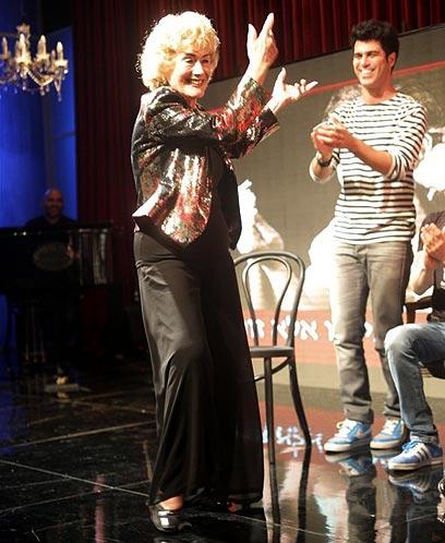 זוהר וטל מוסרי. רוקדת על הבמה (צילום: רפי דלויה) (צילום: רפי דלויה)