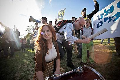 המחאה נולדה בתל אביב - אך הופצה בכל קצווי הארץ (צילום: נועם מושקוביץ) (צילום: נועם מושקוביץ)