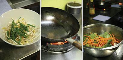הקשים והרכים. ירקות, שנייה לפני ההקפצה (צילום: אורי שביט) (צילום: אורי שביט)