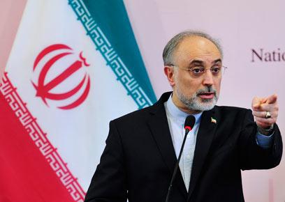 """""""איומי ישראל - איומי סרק"""". שר החוץ האיראני סאלחי (צילום: רויטרס) (צילום: רויטרס)"""