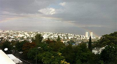 חיפה, אחרי הסערה (צילום: איל קופלביץ) (צילום: איל קופלביץ)