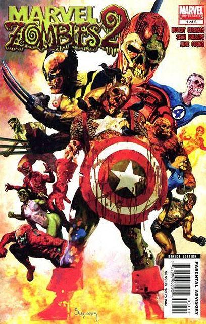 הזומבים של Marvel. אימת הקוד המוסרי ריחפה במשך שנים על הז'אנר (עטיפת הקומיקס) (עטיפת הקומיקס)