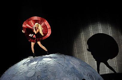 ליידי גאגא. יותר מעריצים מביבר  (צילום: AFP) (צילום: AFP)
