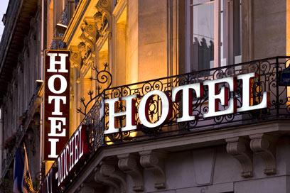 אינסוף לאורחים במלון של הילברט (צילום: shutterstock) (צילום: shutterstock)