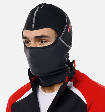 חשוב במיוחד: הגנה טובה על הפנים והאזניים (צילם: מגזין אופניים)