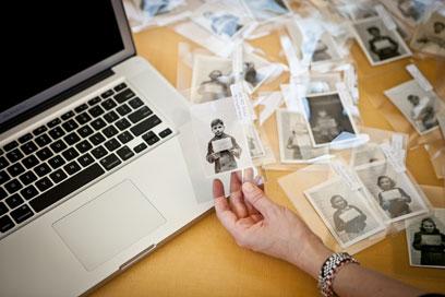 מנסים לאתר 1,100 יתומים  (צילום: United States Holocaust Memorial Museum)