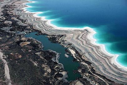 הפסיד, אבל הוא משלנו. ים המלח  (צילום: AFP) (צילום: AFP)