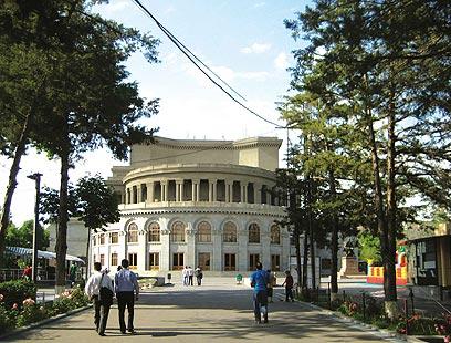 """בית האופרה של ירוואן  (צילום: ד""""ר מוטי רוזן) (צילום: ד"""