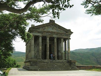 """מקדש גרני. דוגמה לתרבות ההלניסטית (צילום: ד""""ר מוטי רוזן) (צילום: ד"""