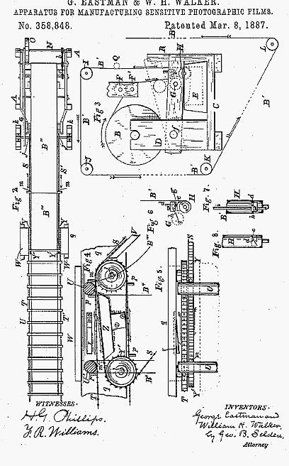 אחד הפטנטים הראשונים (צילום: kodak) (צילום: kodak)