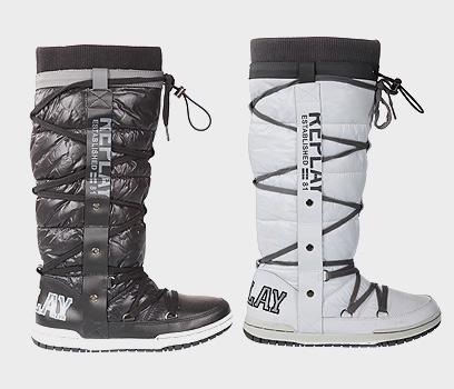 נעלי ריפליי לסקי (צילום: אבי ולדמן)