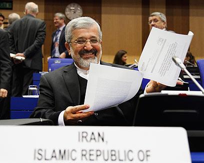 Ali Asghar Soltanieh (Photo: AP)
