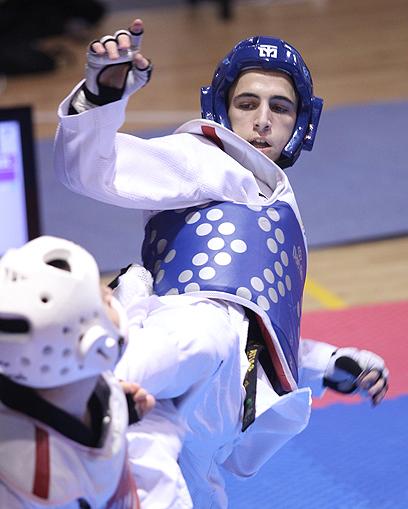 רון אטיאס. נבחר על ידי הוועד לספורטאי הצעיר של השנה (צילום: אורן אהרוני) (צילום: אורן אהרוני)