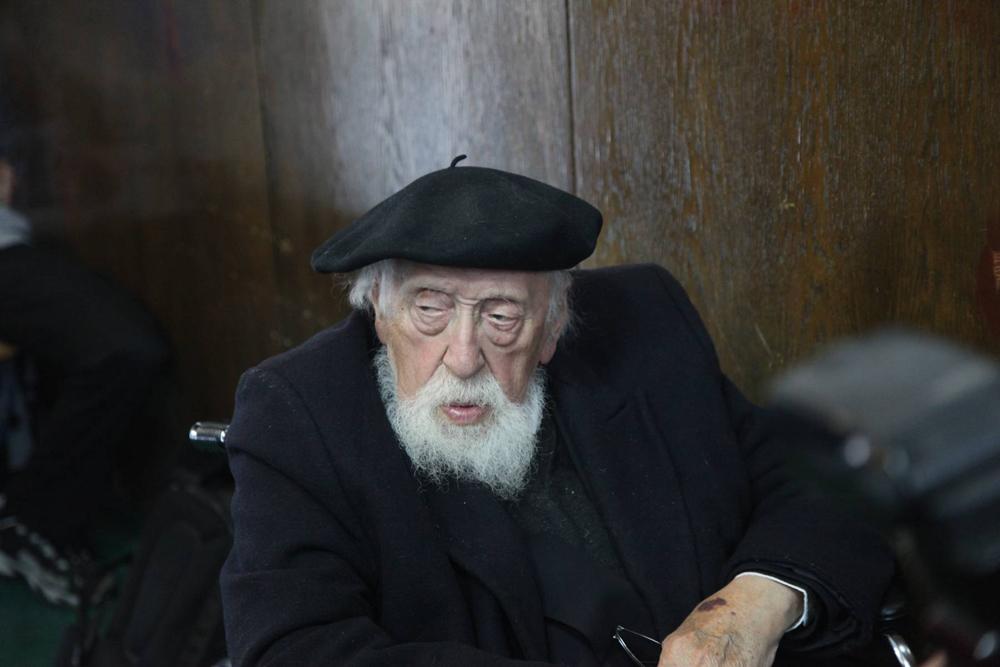 פרופר' ראובן פוירשטיין (צילום: מוטי קמחי)