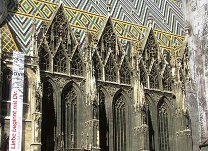 קתדרלת סנט יוזף בווינה. במרפתיה ספונים לבבות מלכים (צילום: שלמה צדקיהו, טבע הדברים) (צילום: שלמה צדקיהו, טבע הדברים)