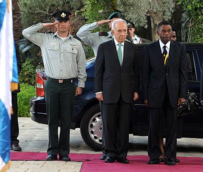 """אובמה לא בא, נשיא פלאו כן (צילום: מארק ניימן, לע""""מ) (צילום: מארק ניימן, לע"""