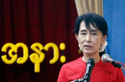 המבחן הגדול של ממשלת מיאנמר - השתתפותה בבחירות. סו צ'י (צילום: רויטרס) (צילום: רויטרס)