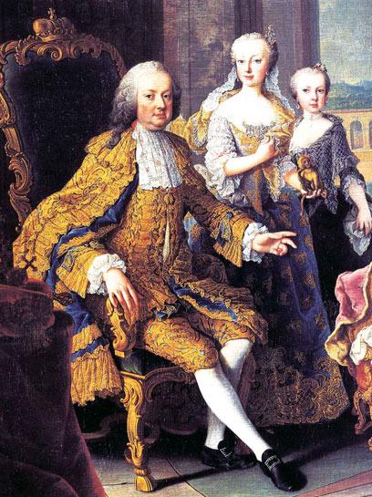 פרנץ סטפן, בעלה של מריה תרזה. נישואיהם הולידו את שושלת הבסבורג-לוריין (צילום: שלמה צדקיהו, טבע הדברים) (צילום: שלמה צדקיהו, טבע הדברים)