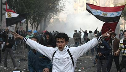 המפגינים עניים יותר ומוסתים בקלות, קהיר (צילום: AFP) (צילום: AFP)