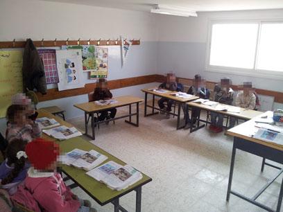 בית הספר בדקייקה. מבנים משופרים (צילום:  אליאור לוי) (צילום:  אליאור לוי)