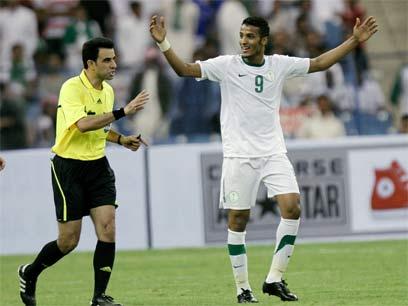 נאיף חזאזי. הכישרון העולה של הכדורגל הסעודי (צילום: AP) (צילום: AP)