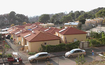 36 בתי נשרפו, שכונת הקראווילות סובלת מבעיות תכנון הנדסי (צילום: עידו ארז) (צילום: עידו ארז)