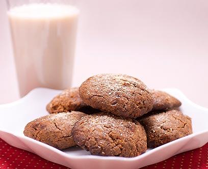 עוגיות טחינה (צילום: ראובן אילת) (צילום: ראובן אילת)