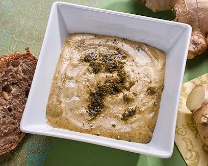 ממרח טחינה בזעתר וג'ינג'ר (צילום: ראובן אילת) (צילום: ראובן אילת)